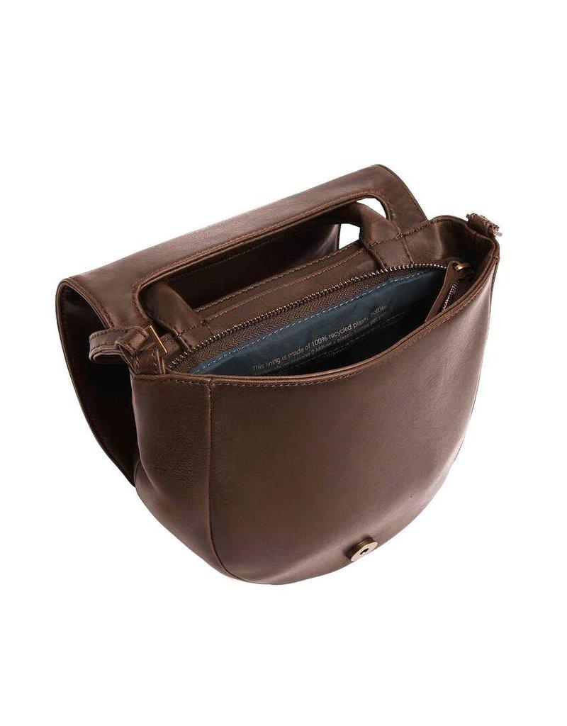 Matt & Nat Matt & Nat Parabole Vintage Saddle Bag: Coffee