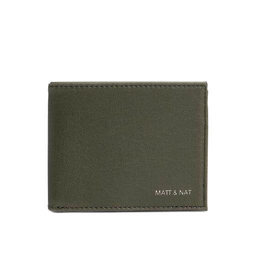 Matt & Nat Matt & Nat Rubben Wallet: Olive