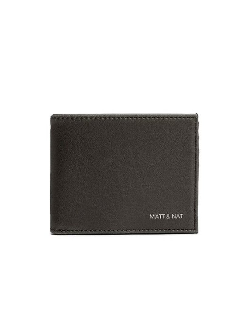 Matt & Nat Matt & Nat Rubben Wallet: Black