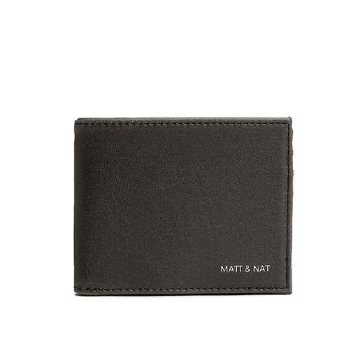 Matt & Nat Matt & Nat Rubben Wallet: Black