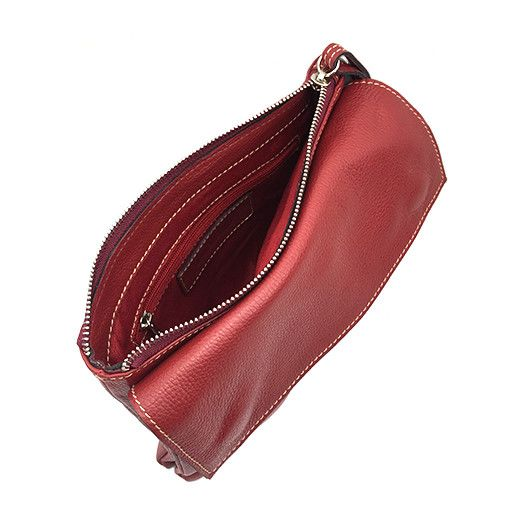 Modus Rio Modus Rio Tasseled Clutch: Red