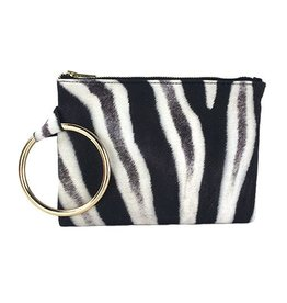 INK+ALLOY INK+ALLOY Animalia Clutch: Zebra