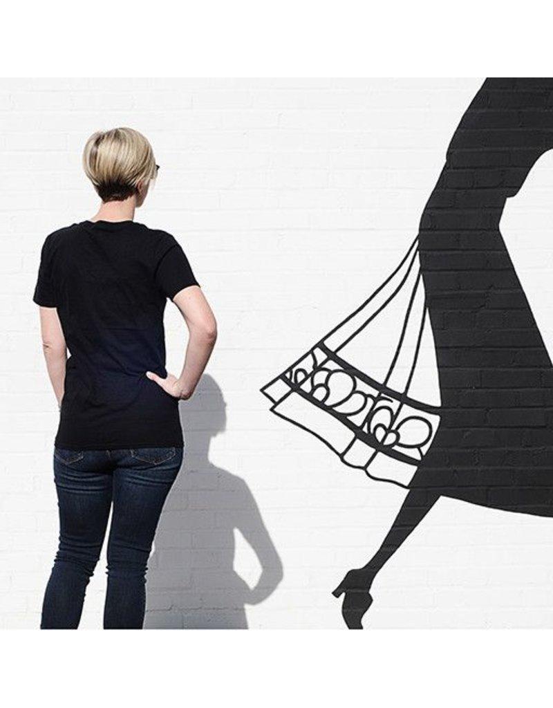 ESSE Purse Museum ESSE Tee, Logo Hashtag: Short Sleeve, Black: