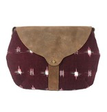 Shelter Shelter Taplin Purse: Burgundy