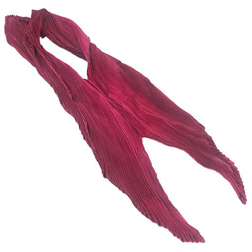 Nellie Rose Textiles Nellie Rose Silk Scarf: Petal S, Raspberry
