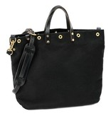 W Durable Goods W Durable Goods Tote Bag: Black