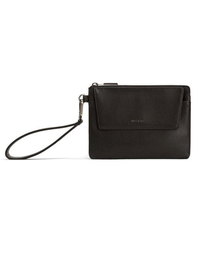 Matt & Nat Matt & Nat Maya Large Wristlet: Black
