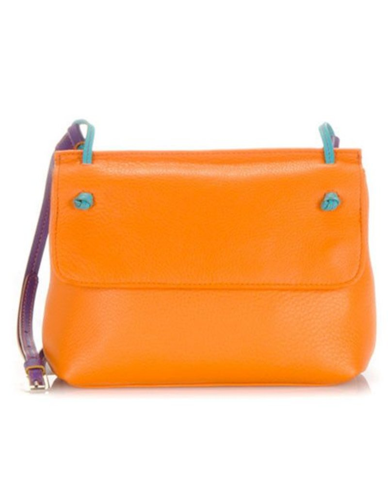 Mywalit Mywalit Rio Flapover Crossbody: ORANGE COPACABANA