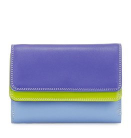 Mywalit Double Flap Wallet: Lavender