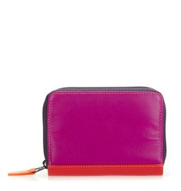 Mywalit Zipped Credit Card Holder: Sangria