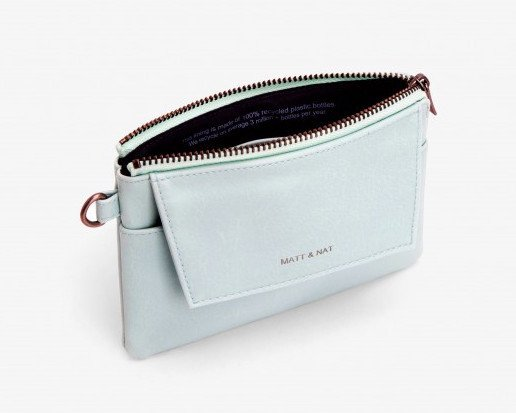 Matt & Nat Matt & Nat Maya Large Wristlet: Glass