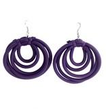 NEO Design Neo Earrings #20: Purple
