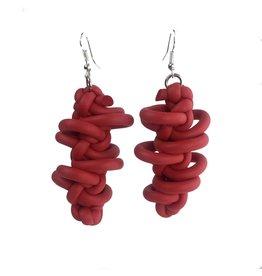 NEO Design Earrings #10: Red