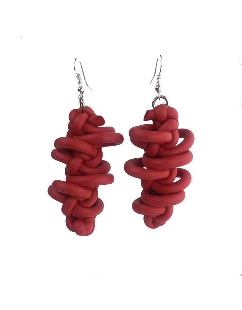 NEO Design Neo Earrings #10: Red