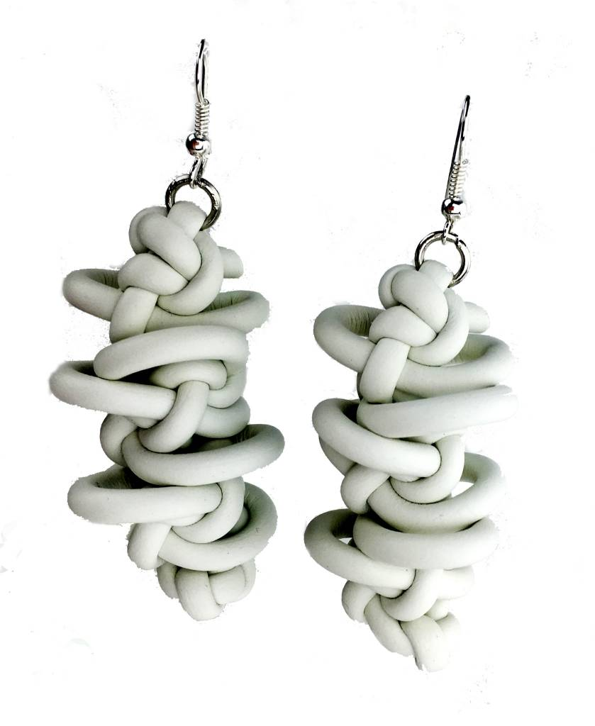 NEO Design Neo Earrings #10: White