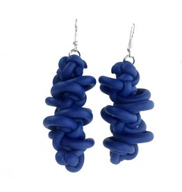 NEO Design Earrings #10: Electric Blue