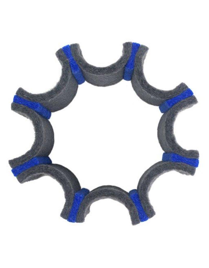 IS Felt IS Felt Gear Cuff: Small, Gray / Blue