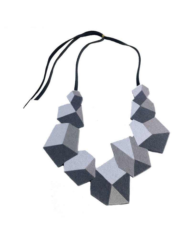 IS Felt IS Felt Rock Neckpiece