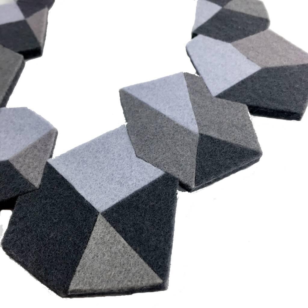 IS Felt IS Felt Rock Neckpiece