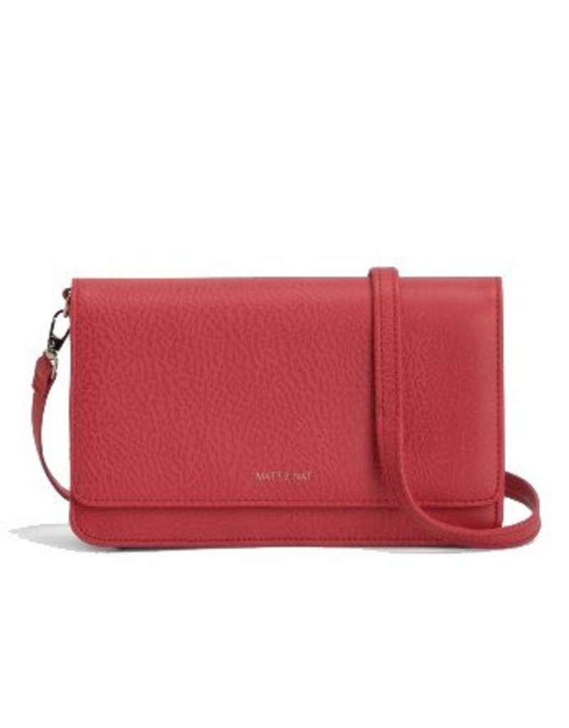 Matt & Nat Matt & Nat Bee Crossbody: Coral