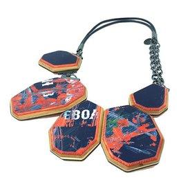 Tara Locklear Gem Crescent Necklace