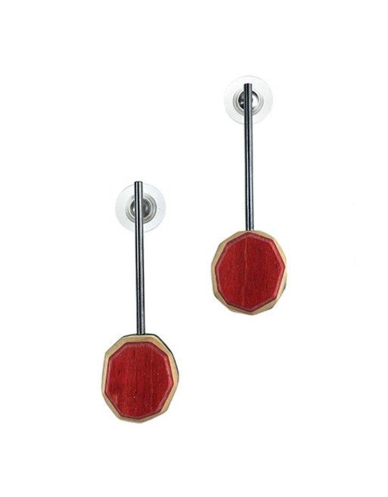 Tara Locklear Tara Locklear Gem Bar Earrings