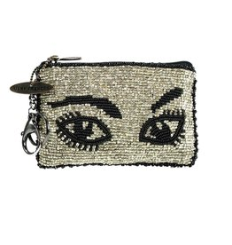 Mary Frances Coin Purse: Watch Out