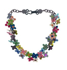 Lynsey Walters Flower Confetti Necklace: Multi