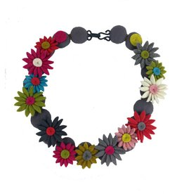 Lynsey Walters Retro Daisy Necklace