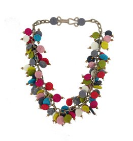 Lynsey Walters Dainty Bead Necklace: Multi