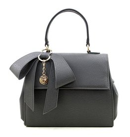 Gunas Cottontail Handbag: Gray