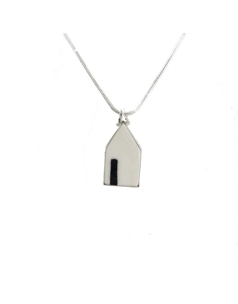 Eldreth Pottery Eldreth Pottery Small House With Door Pendant