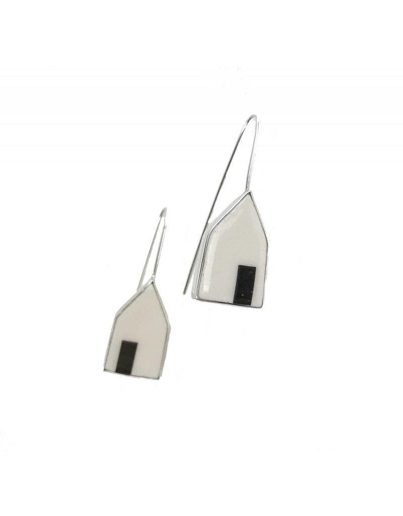 Eldreth Pottery Eldreth Pottery Open Door House Earrings