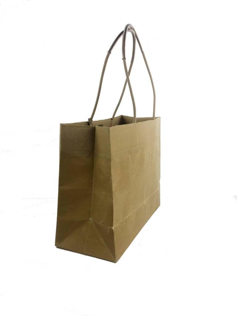 Brave Brown Bag Brave Brown Bag Basic Marche Classic Tote: Tabac