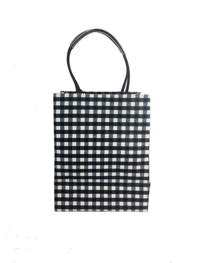 Brave Brown Bag Brave Brown Bag Luxe Midi Pattern: Ebony Check