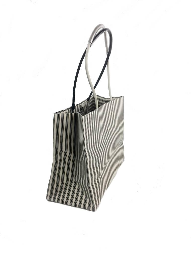 Brave Brown Bag Brave Brown Bag Luxe Madi Pattern: Ebony Ticking