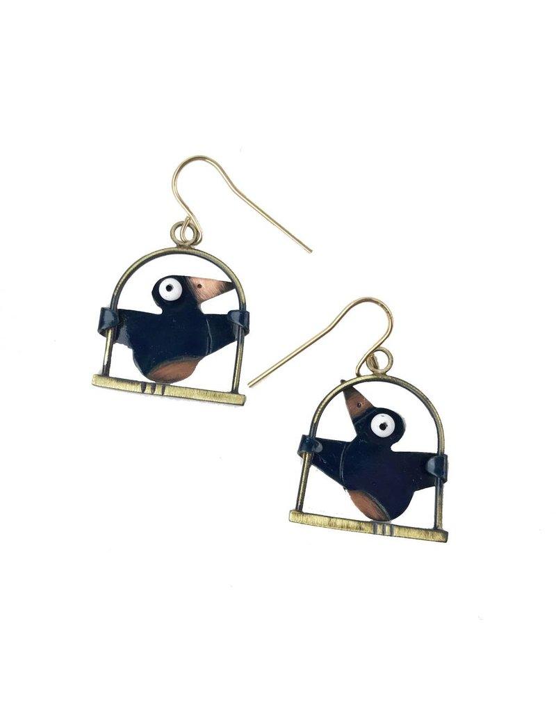 Chickenscratch Chickenscratch Earrings: Swingers