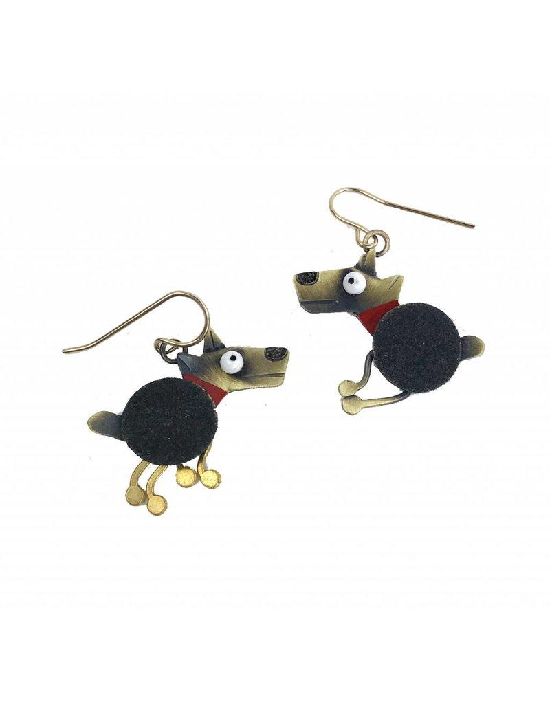 Chickenscratch Chickenscratch Earrings: Spot