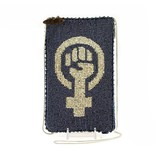 Mary Frances Mary Frances Phone/Glasses Pouch: Woman Power