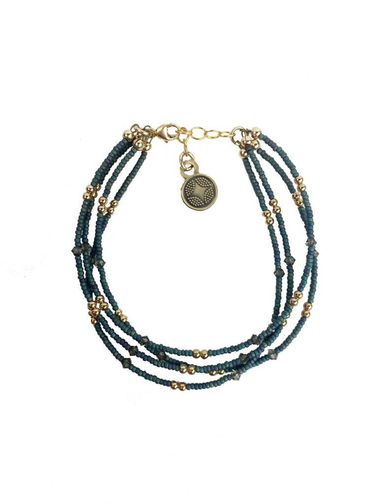 Illuminated Me Illuminated Me Bracelet: Hope, Turquoise
