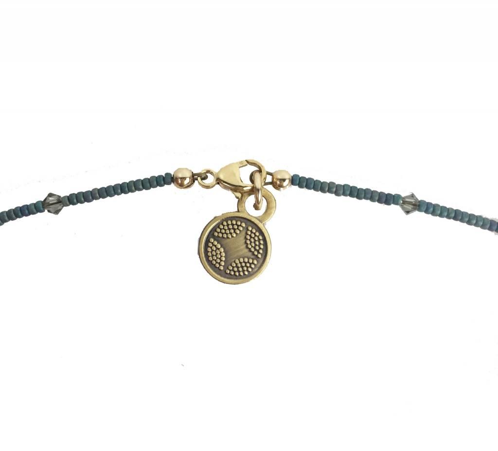 Illuminated Me Illuminated Me Necklace: Hope, Turquoise