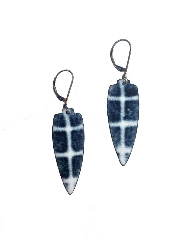Julie Shaw Julie Shaw Large Shield Earrings