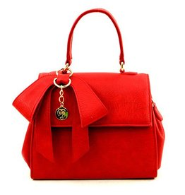 Gunas Cottontail Handbag: Red