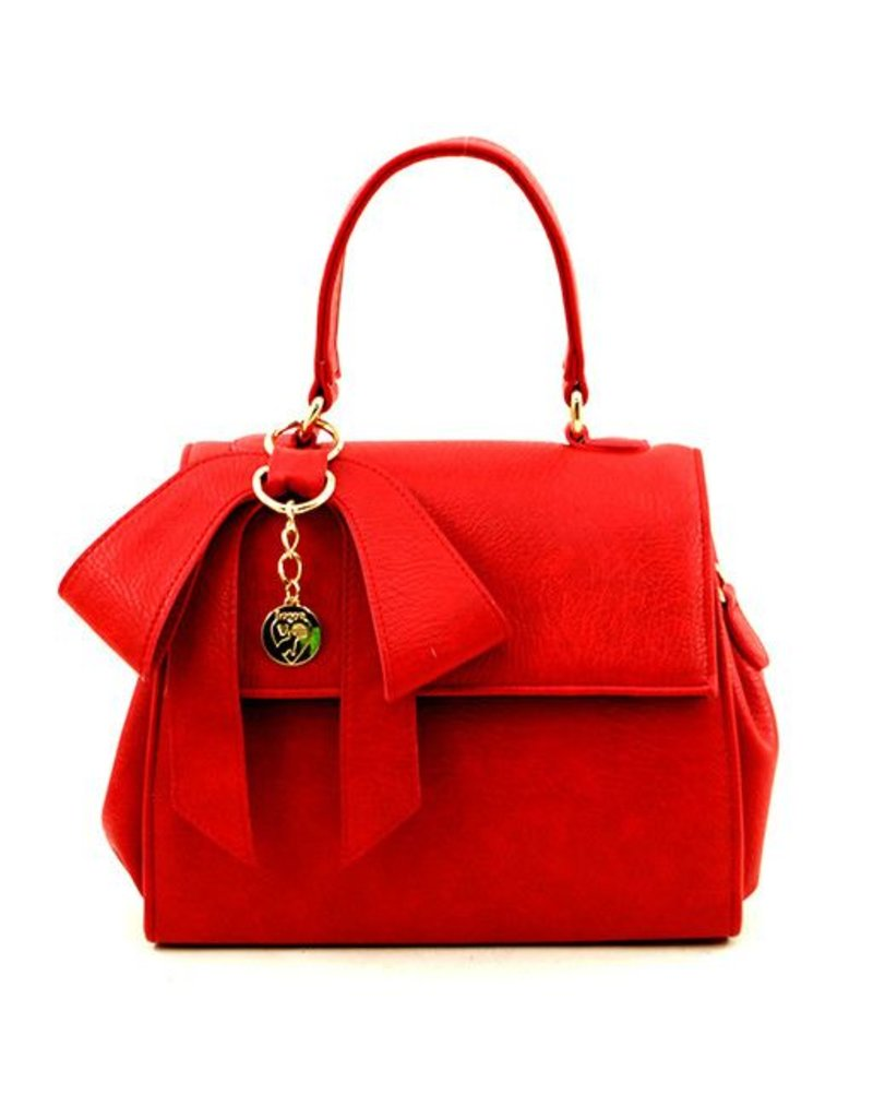 Gunas Gunas Cottontail Handbag: Red
