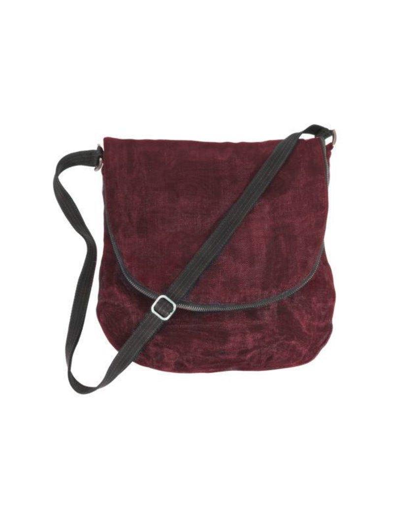 Smateria Smateria Courier Bag: Bordeaux