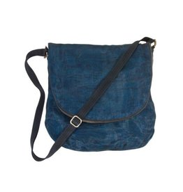 Smateria Courier Bag: Navy