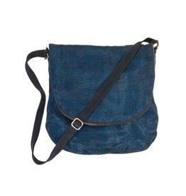 Smateria Courier Bag: Navy