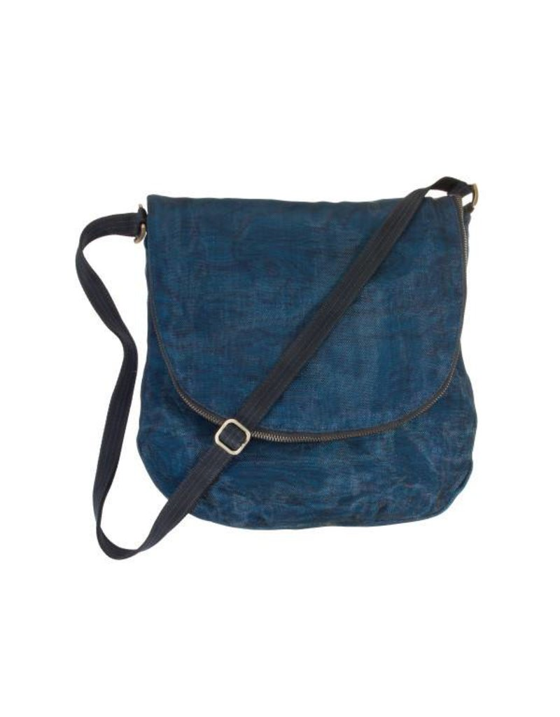 Smateria Smateria Courier Bag: Navy