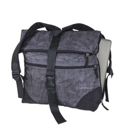 Smateria Large Urban Backpack: Charcoal