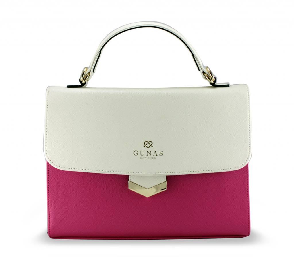 Gunas Gunas Flamingo Handbag: Pink Dual Tone